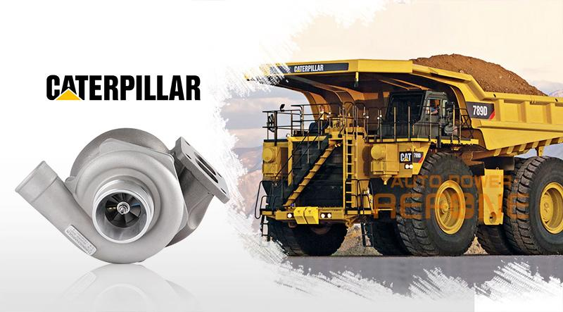 Caterpillar truck turbocharger
